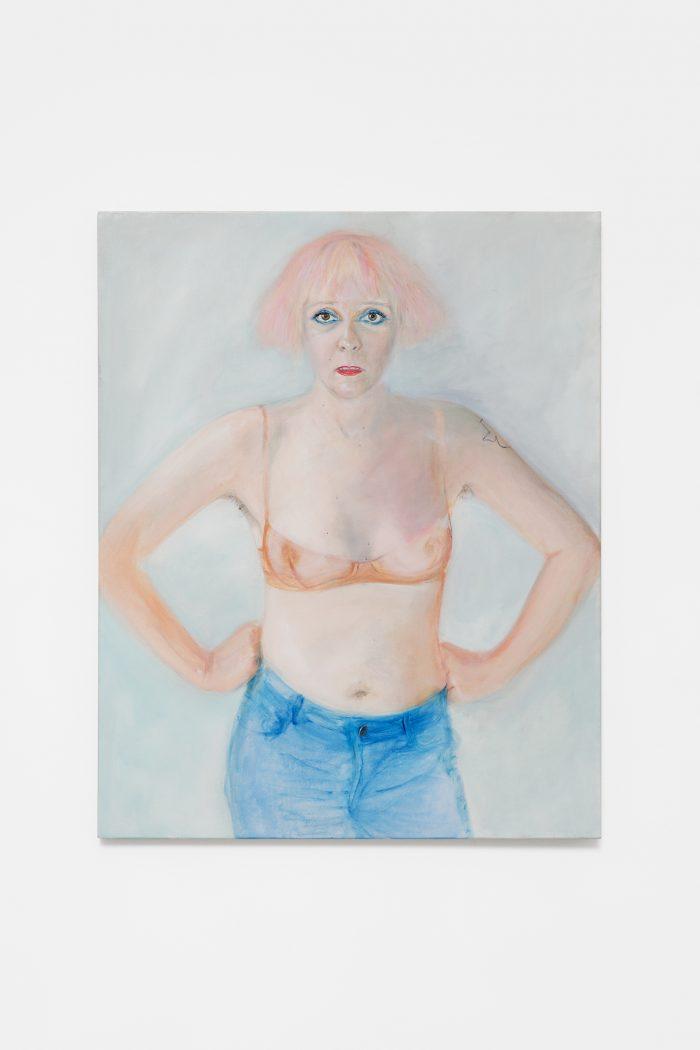 K8 Hardy, 2016-2018, oil on canvas, 81 x 65 cm
