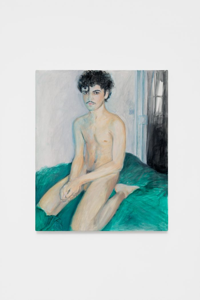 Nassim Guizani, 2018, oil on canvas, 73 x 60 cm