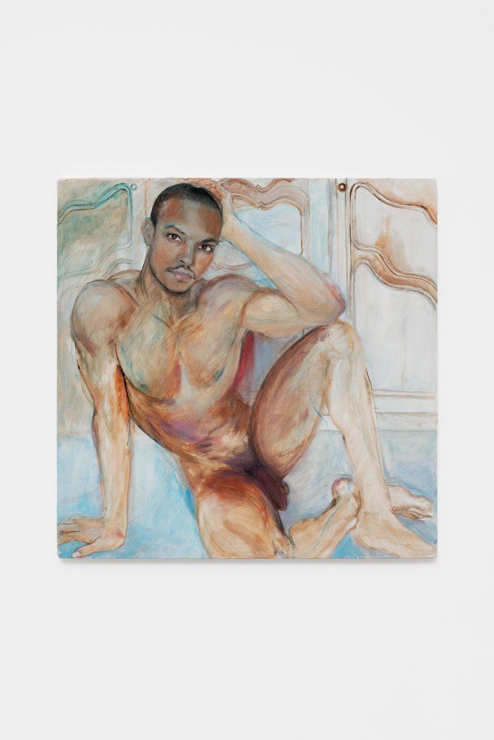 JeanPaul Paula, 2018, oil on canvas, 60 x 60 cm