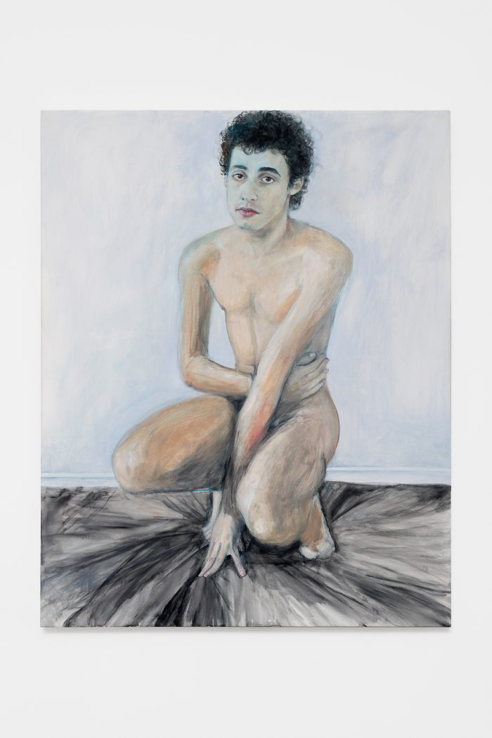 Rodrigue Fondeviolle, 2018, oil on canvas, 92 x 73 cm