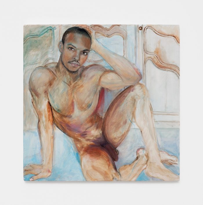 JeanPaul, 2018, oil on canvas, 60 x 60 cm (23 ⅝ x 23 ⅝ inches)